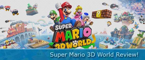 Super Mario 3D World Review!